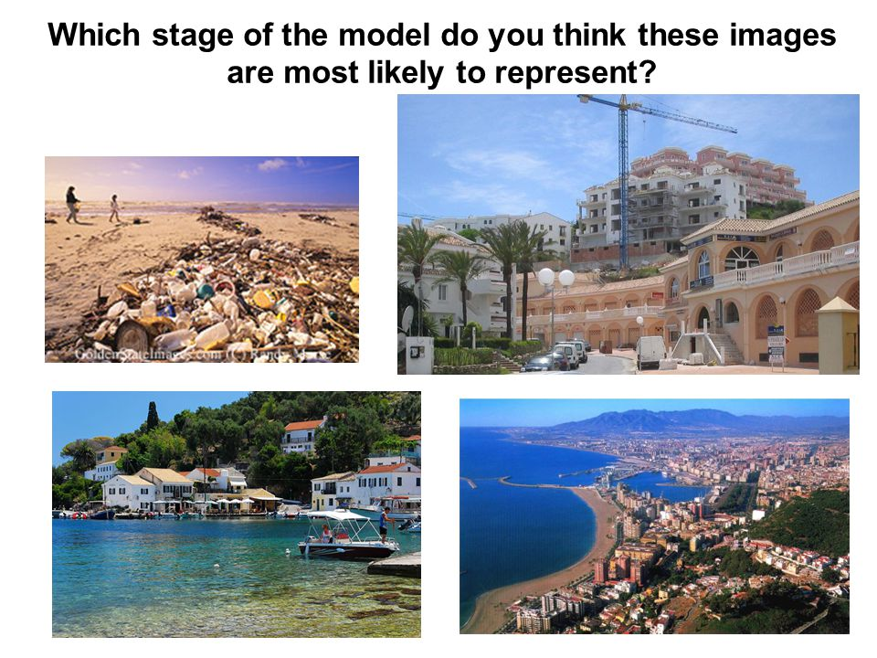 Which stage of the model do you think these images are most likely to represent?
