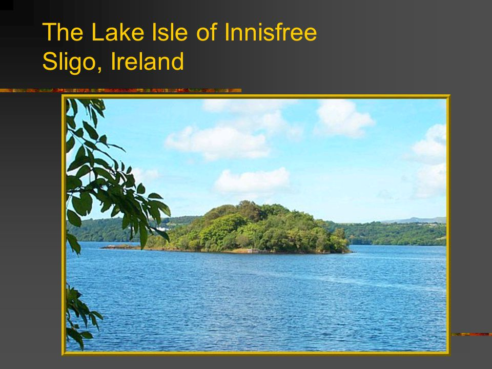 The Lake Isle of Innisfree Sligo, Ireland