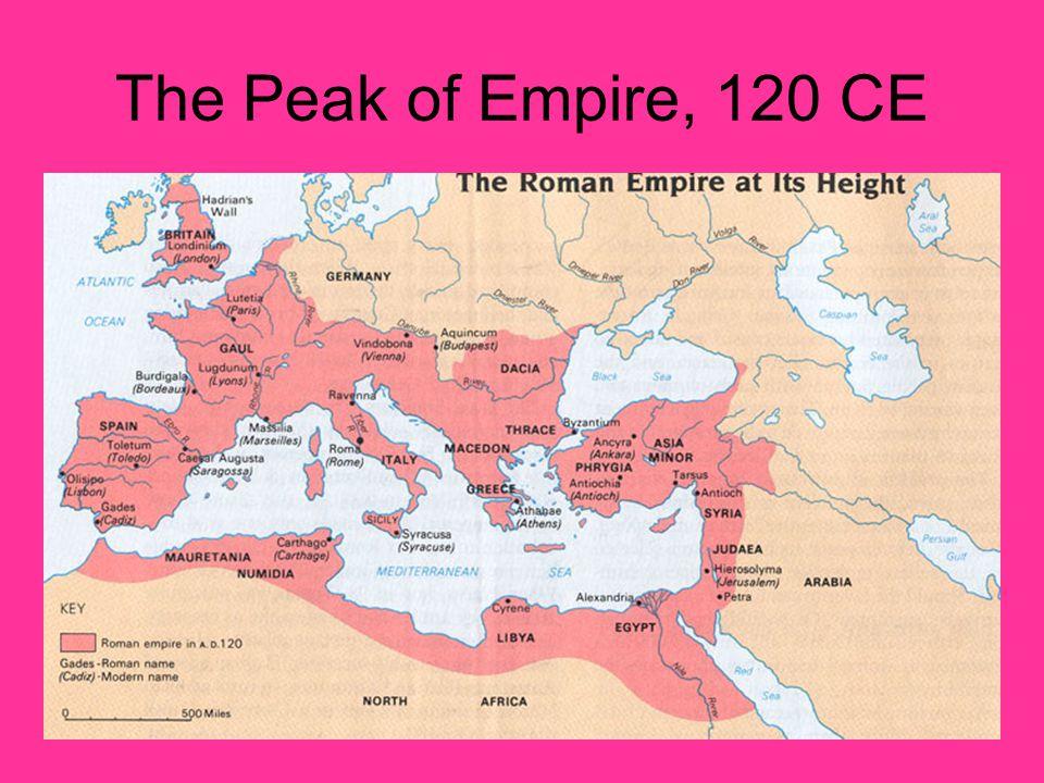 The Peak of Empire, 120 CE