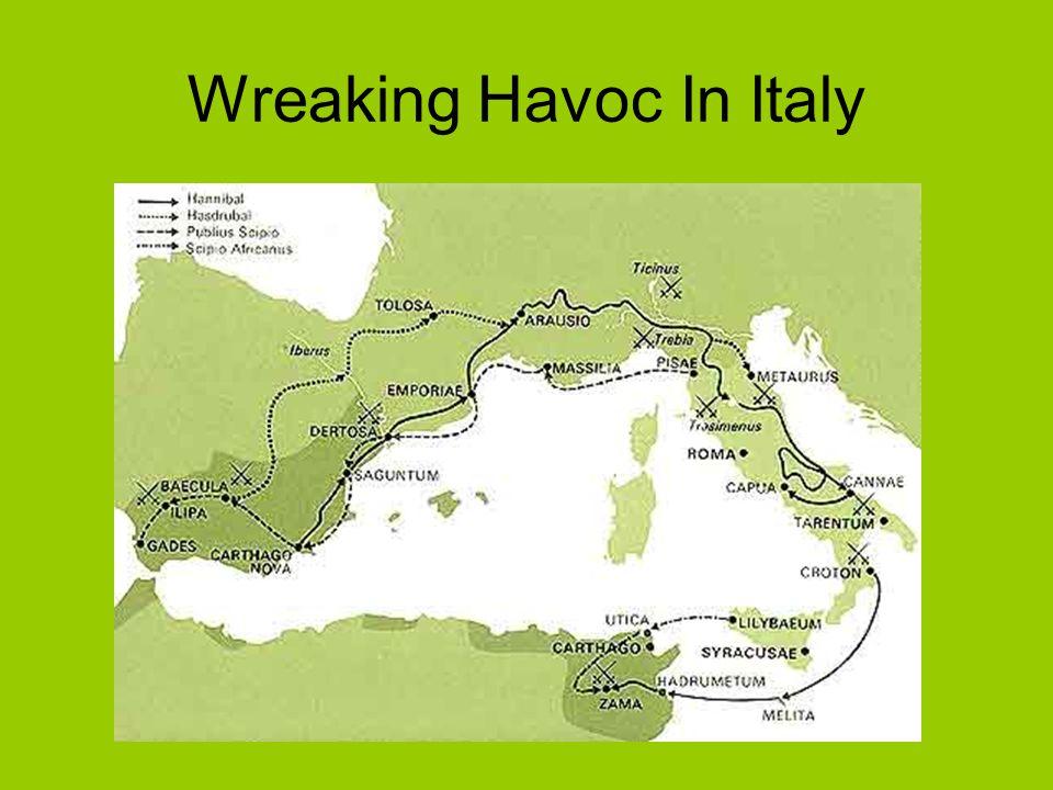 Wreaking Havoc In Italy