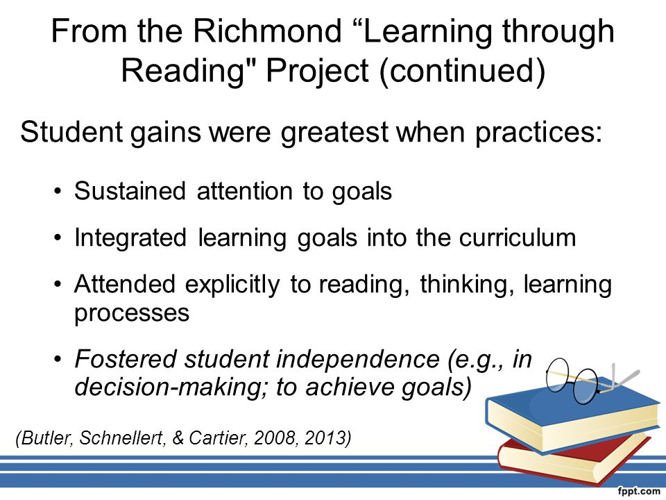 """From the Richmond """"Learning through Reading"""
