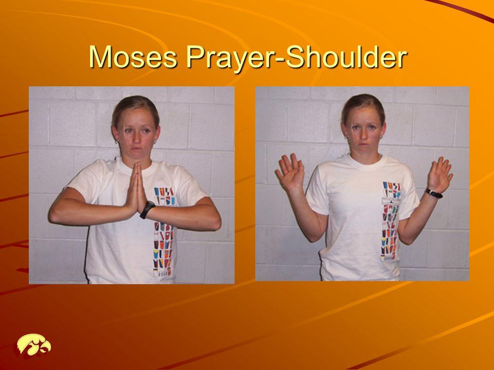 Moses Prayer-Shoulder