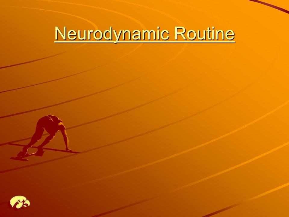 Neurodynamic Routine Neurodynamic Routine