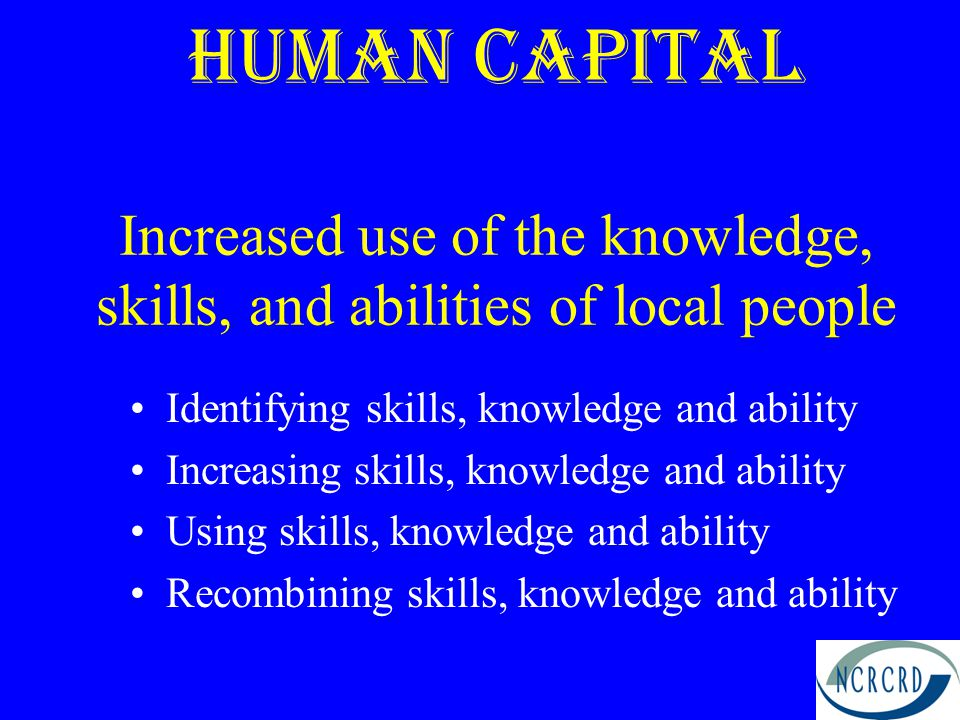 Social Capital mutual trust reciprocity groups collective identity sense of shared future working together The interactions among individuals that occur with a degree of frequency and comfort.