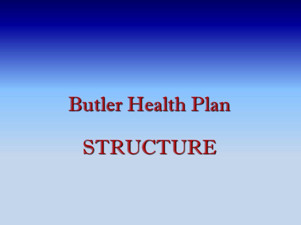 Butler Health Plan STRUCTURE
