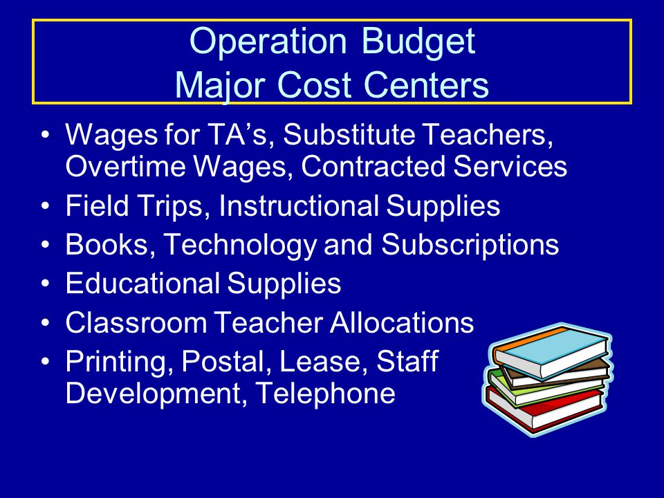 SCHOOL BUDGET Operational Budget for 2010 - 2011 $ 70,408 Required 7% Holdback$ $ 65,479 Allocation is $209 per pupil