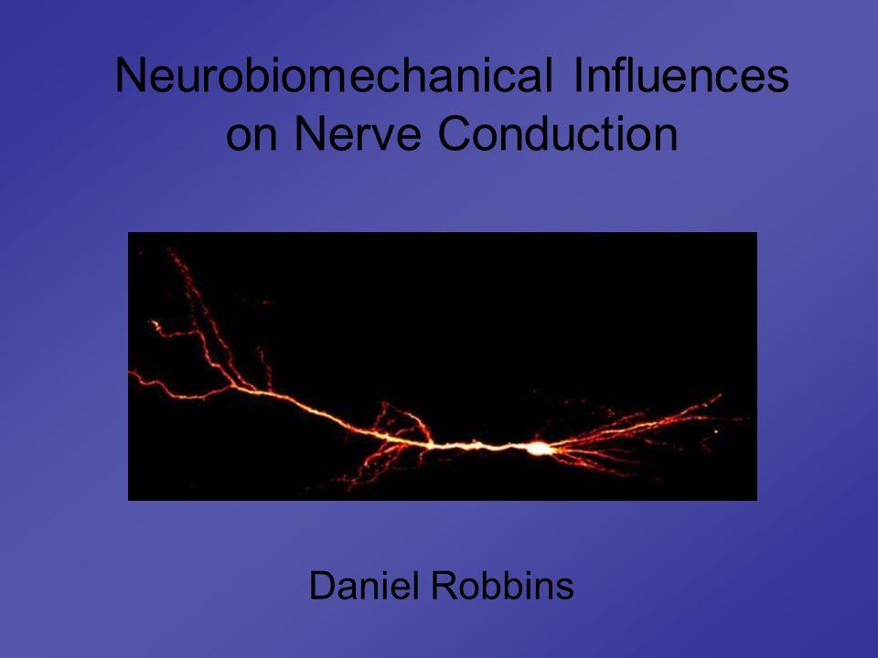 Neurobiomechanical Influences on Nerve Conduction Daniel Robbins