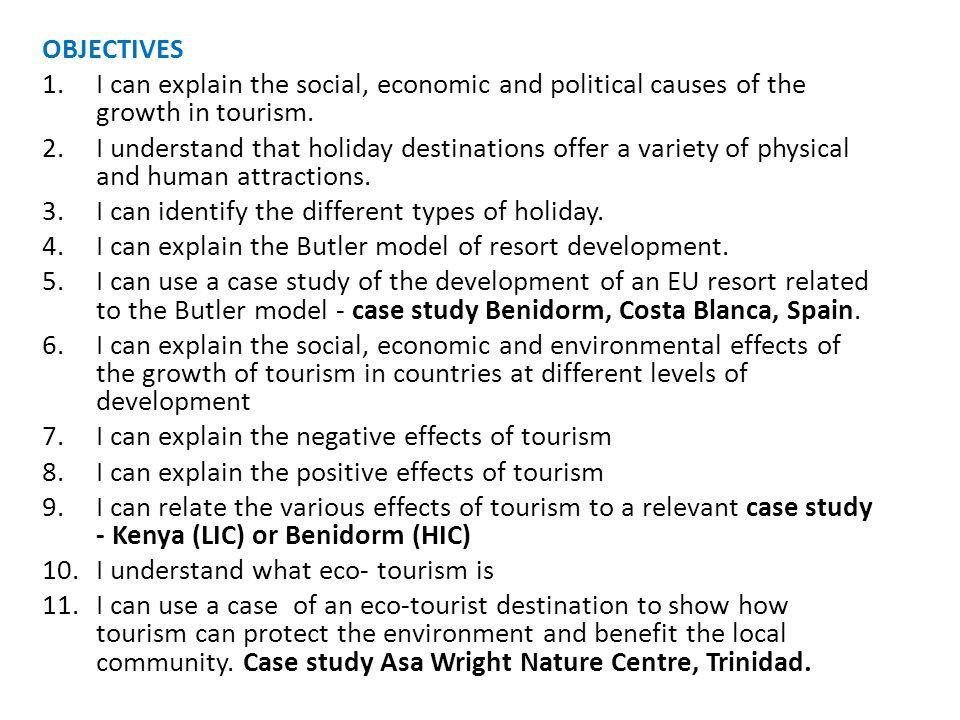 Time Number of Tourists Exploration Involvement Development Consolidation Stagnation Rejuvenation Decline