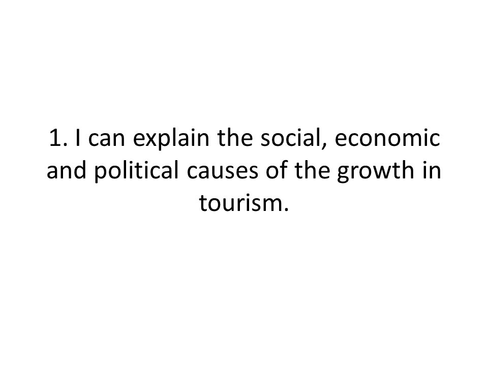 5. I can use a case study of the development of an EU resort related to the Butler model.