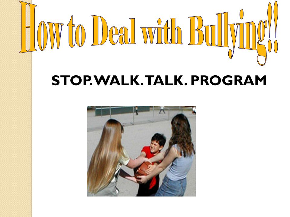 Dealing with Bullying Day 3 BCMS