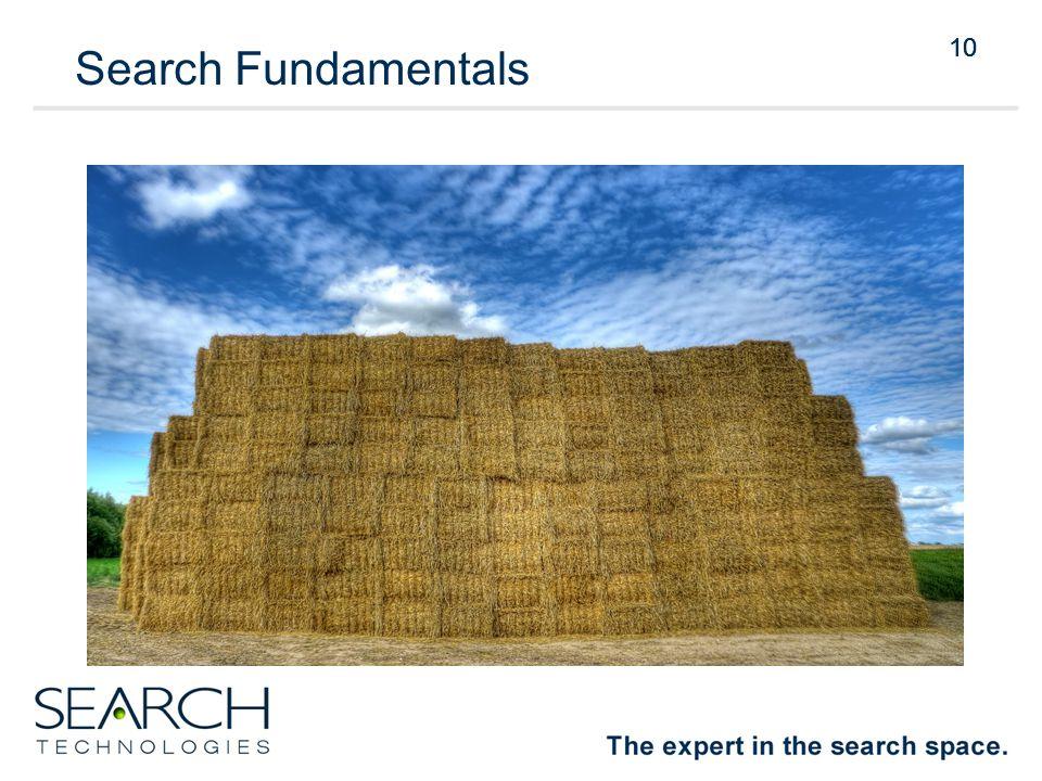 10 Search Fundamentals 10
