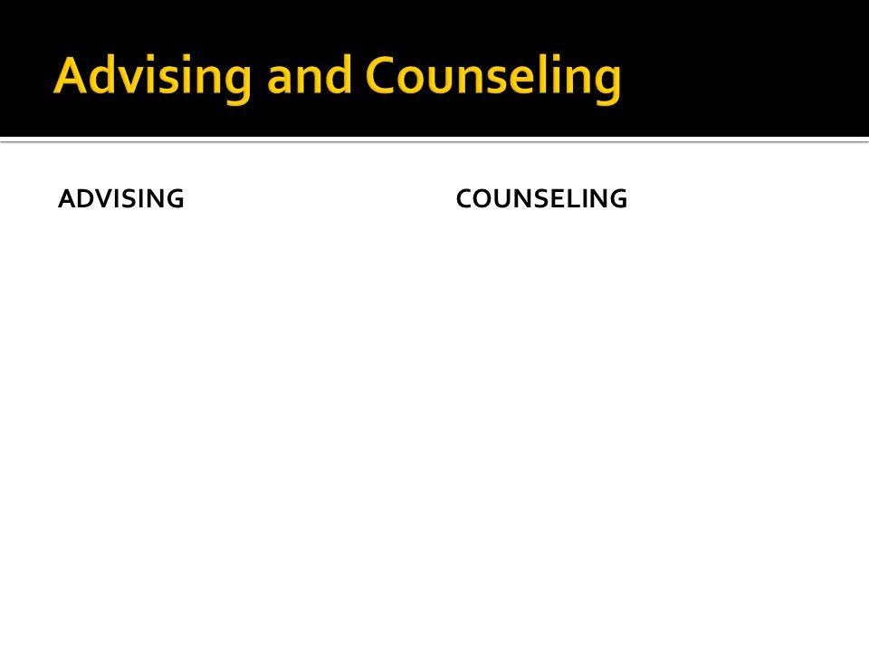 ADVISINGCOUNSELING