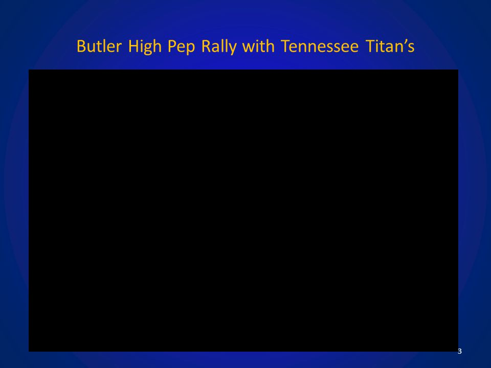 Butler High Pep Rally with Tennessee Titan's 3