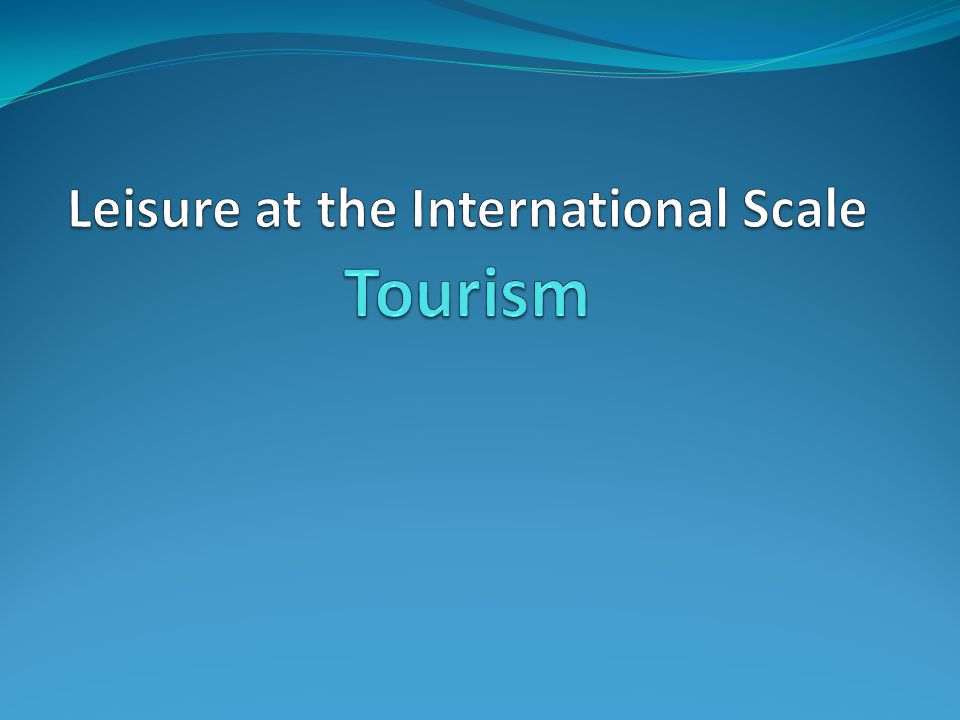 The Butler Model is a model of tourism that represents tourism as the life cycle of a resort.