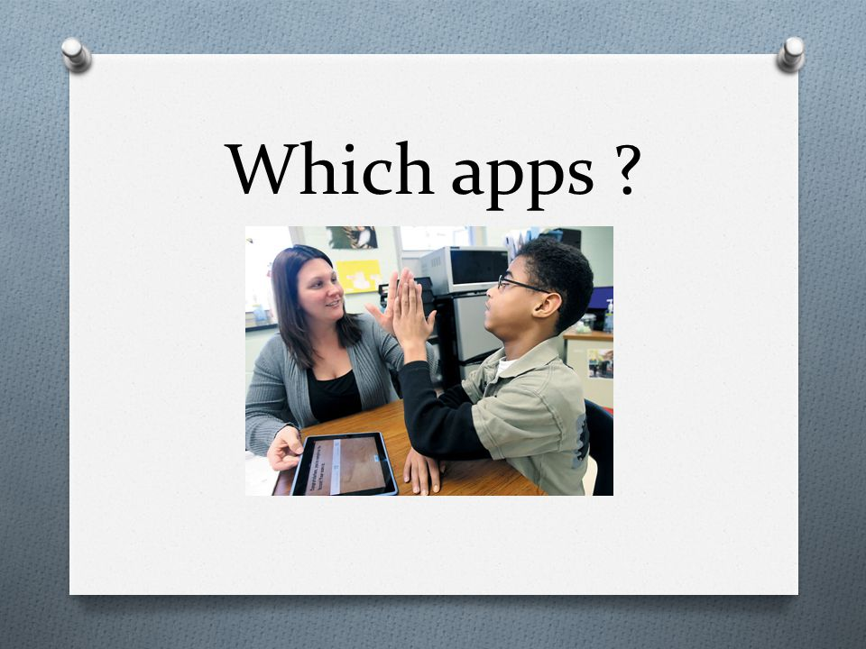 Which apps