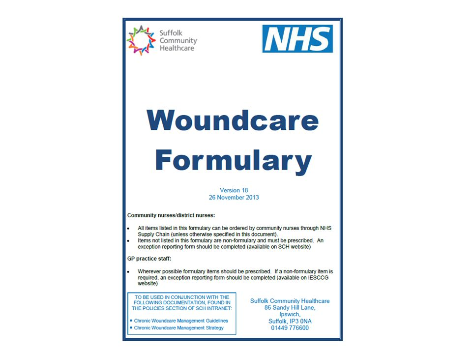 Other related work: Miscellaneous formulary –List of continence products out of date and needs reviewing –Need to set up a MDT continence review group – please see me if you are interested in participating Stoma accessories –Technician support available to review deodorant prescribing –Stoma accessories formulary to be included into the miscellaneous formulary Joint formulary –Dermatology section underway 18 CCG Update