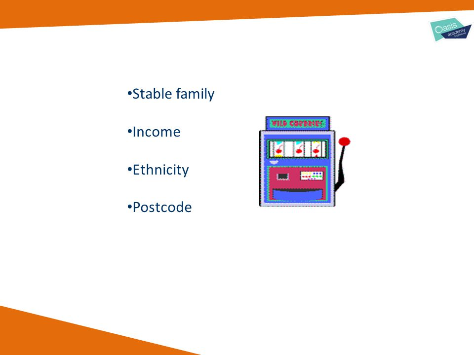 Stable family Income Ethnicity Postcode