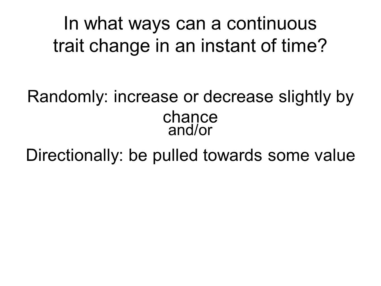 Parameter value Distance