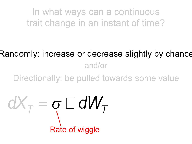 Brownian motion OU or OU-like