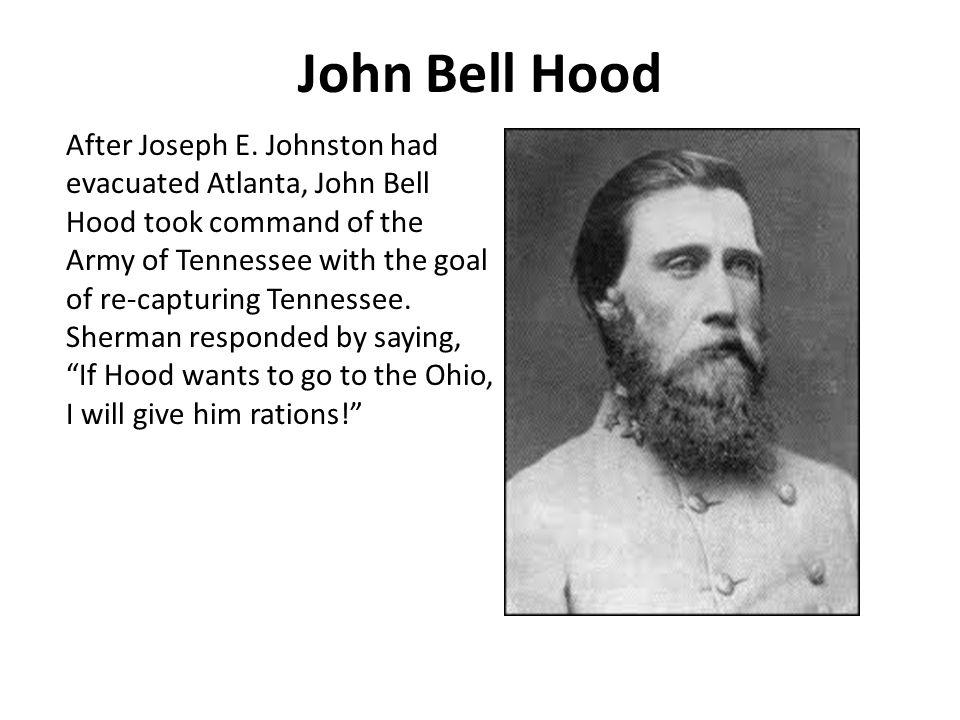 John Bell Hood After Joseph E.