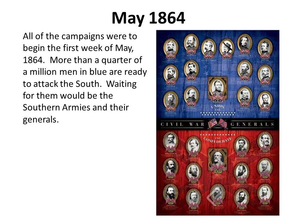 William Tecumseh Sherman Sherman's army began its advance from Chattanooga towards Atlanta on May 7.
