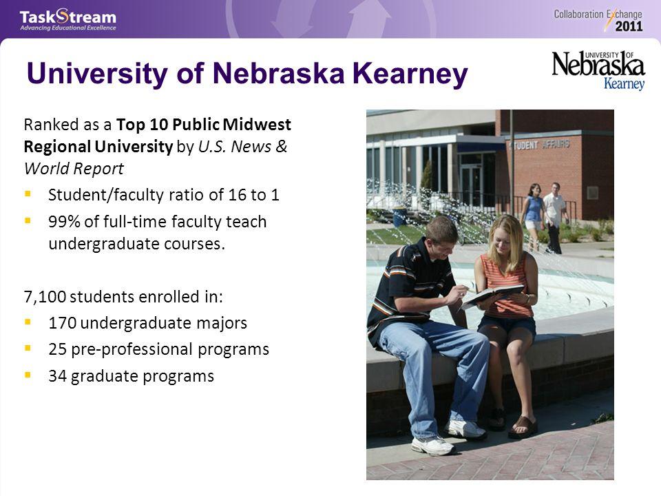 University of Nebraska Kearney Ranked as a Top 10 Public Midwest Regional University by U.S.