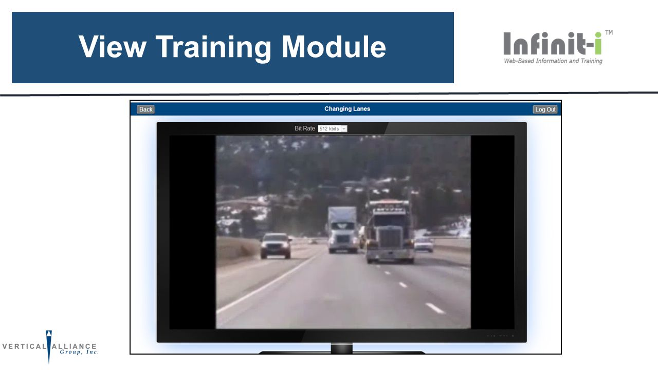 View Training Module