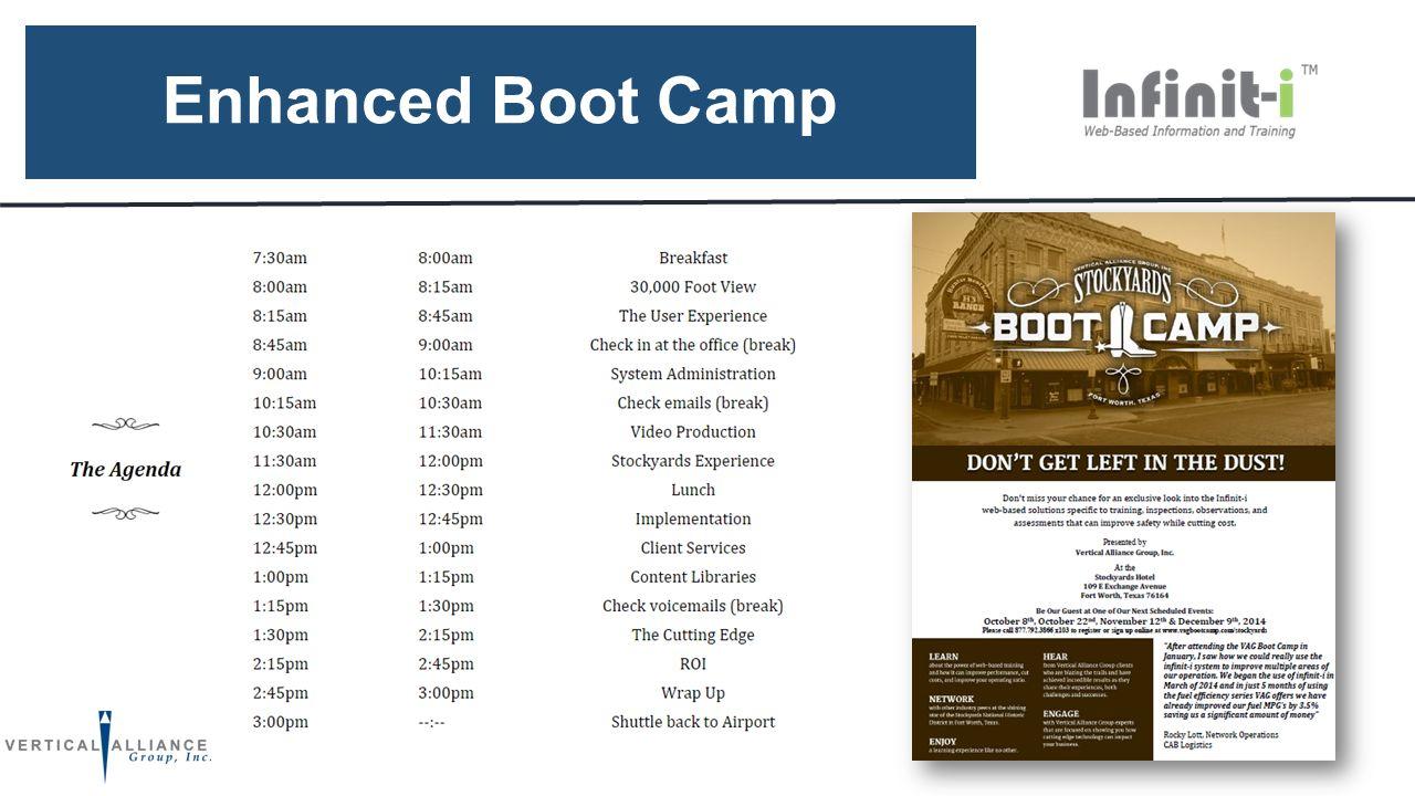 Enhanced Boot Camp