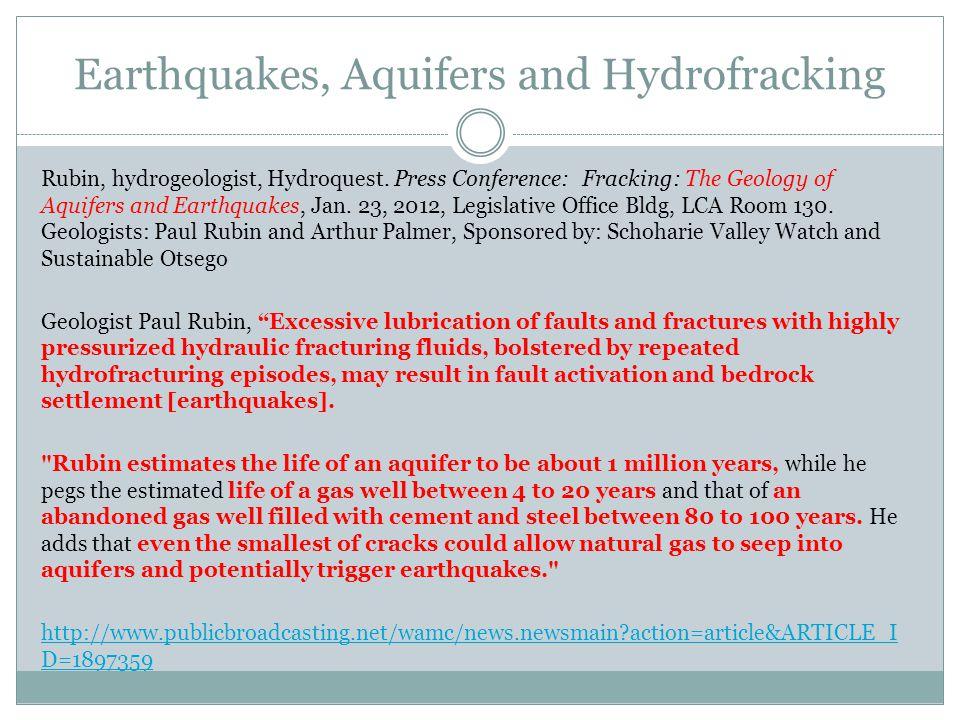 Rubin, hydrogeologist, Hydroquest.