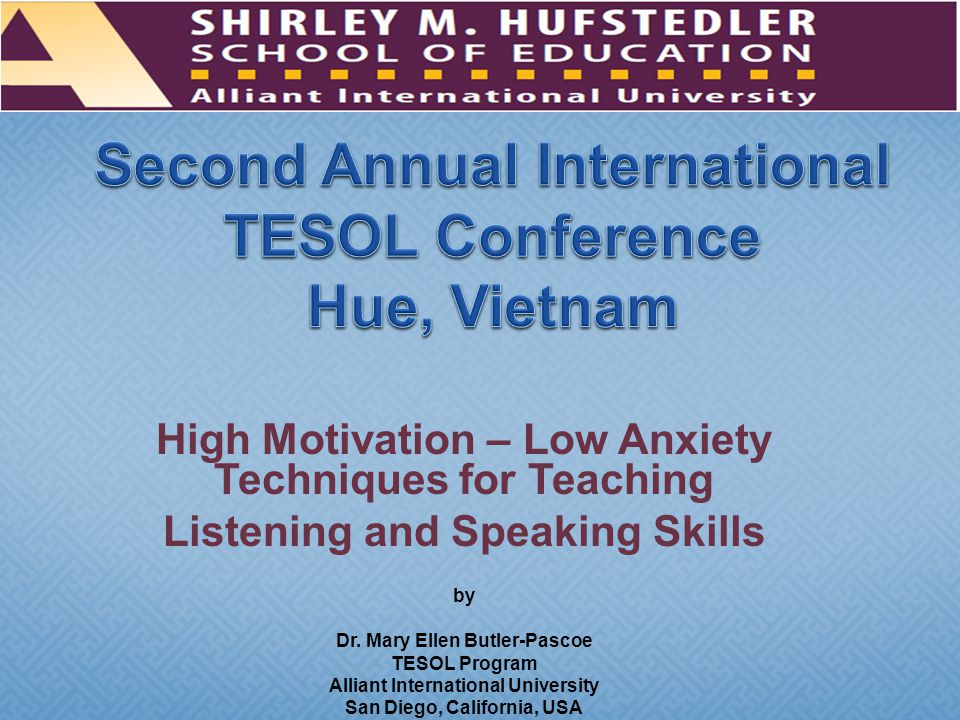 A key role of the of the second language teacher is to act as a facilitator in providing comprehensible input to assist students in converting input into intake Listening is a critical receptive skill that typically precedes productive ability (such as speaking) In the language classroom and outside the class, students engage more in listening than they do in speaking.