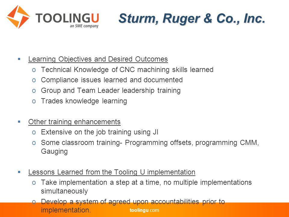 toolingu.com.) toolingu.com Tooling U User Group Discussion Las Vegas September 12, 2011