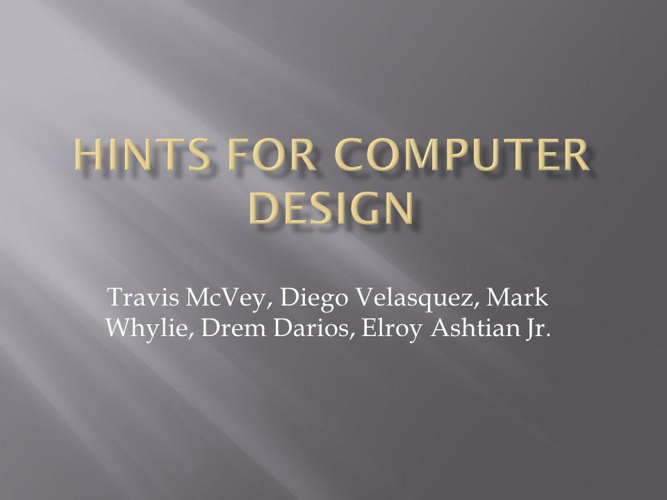 Travis McVey, Diego Velasquez, Mark Whylie, Drem Darios, Elroy Ashtian Jr.