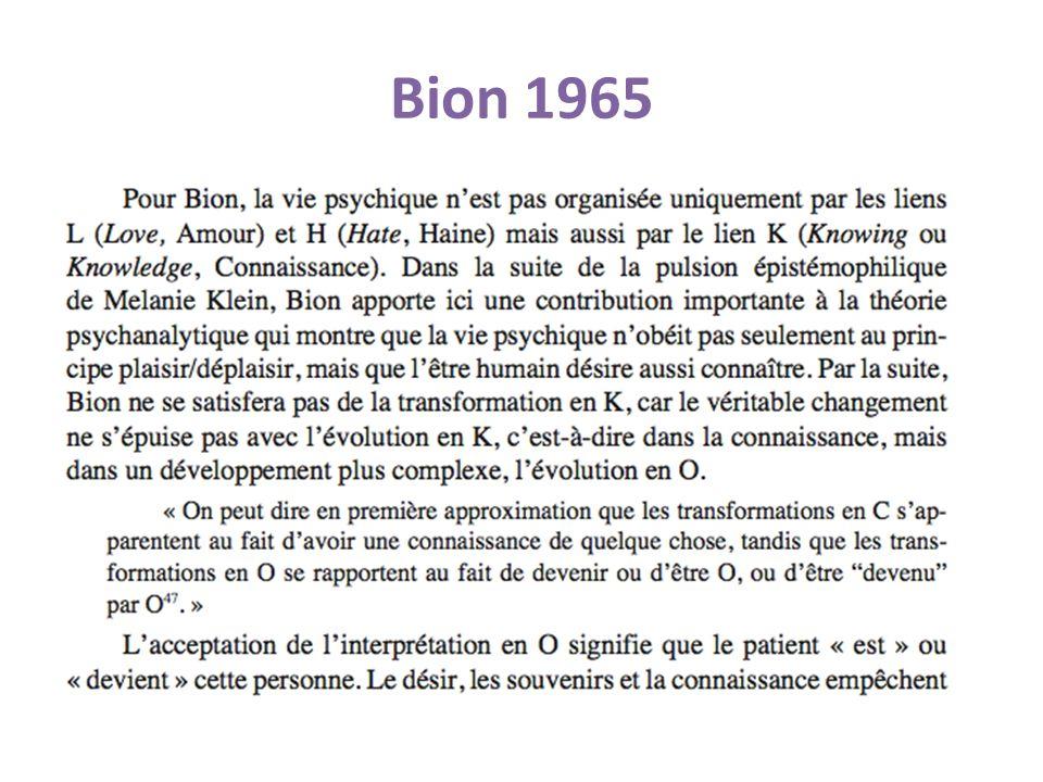 Bion 1965
