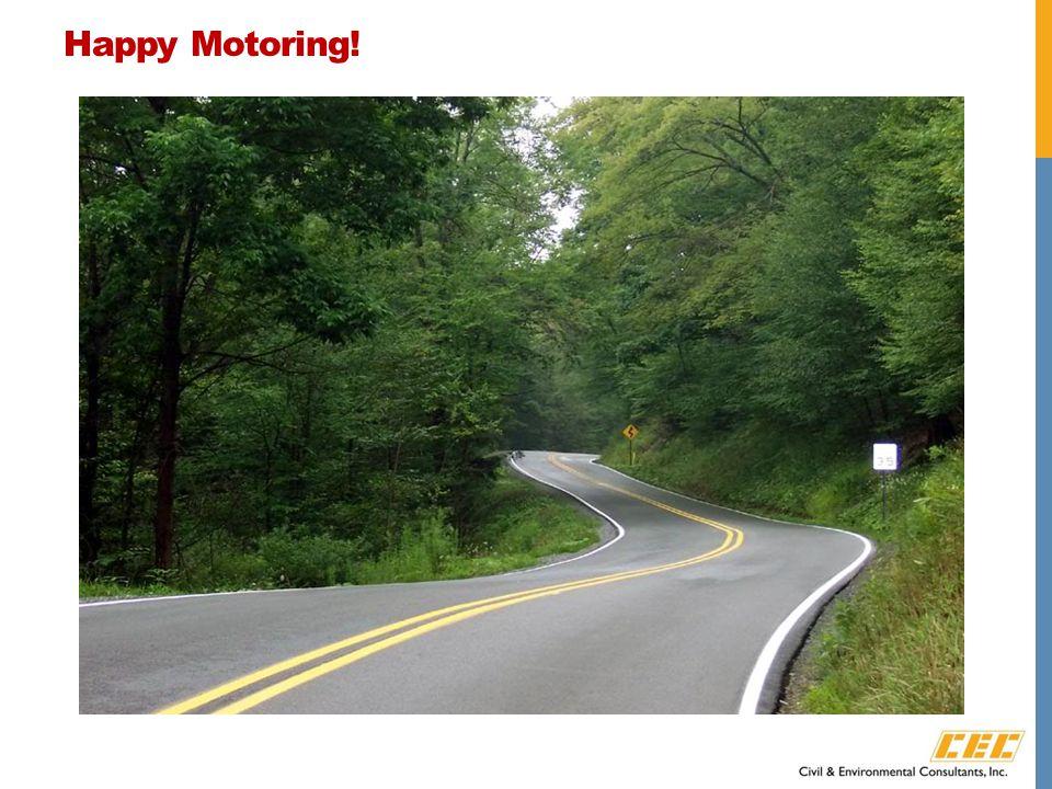 Happy Motoring!