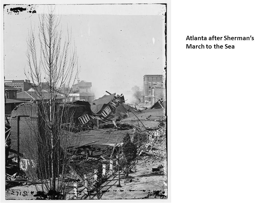 Atlanta after Sherman's March to the Sea