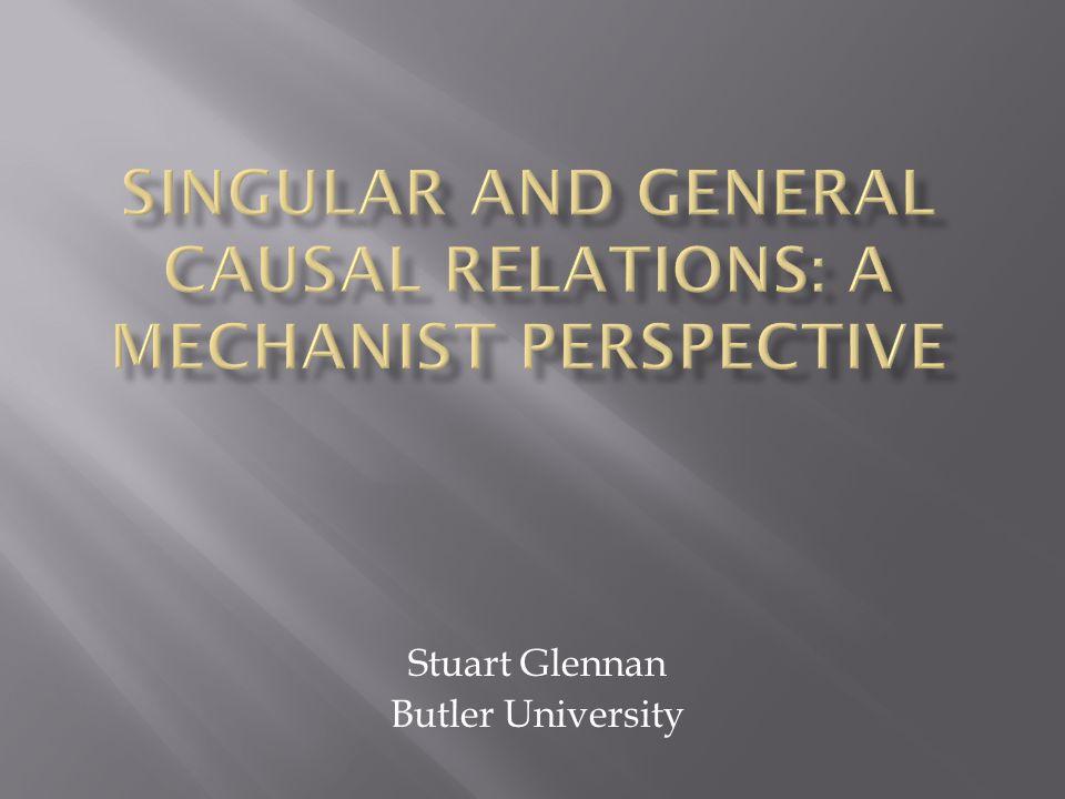 Stuart Glennan Butler University