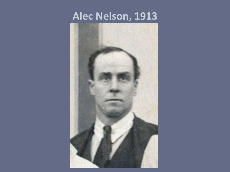 Alec Nelson, 1913