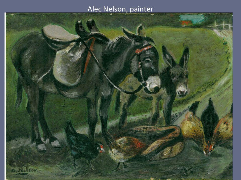 Alec Nelson, painter
