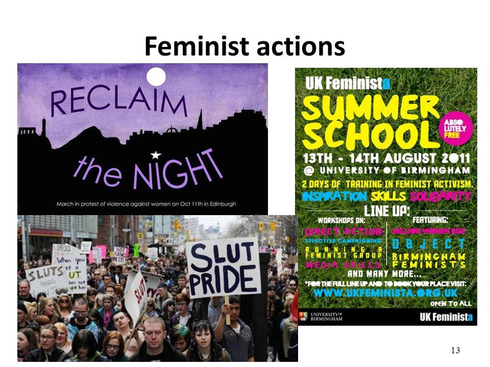 Feminist actions 13