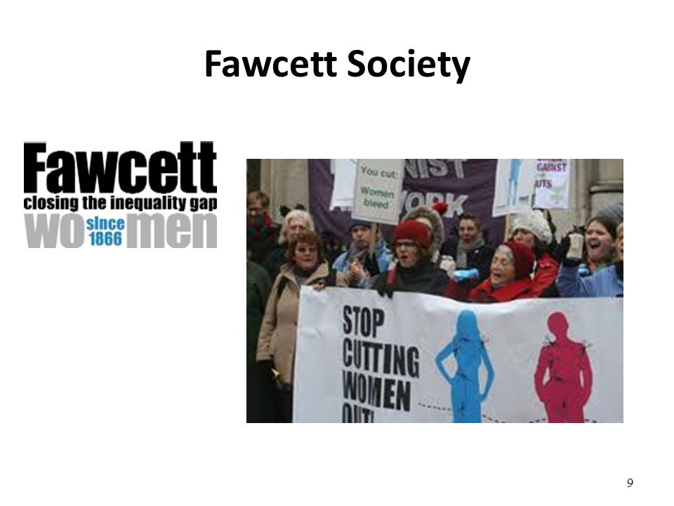 Fawcett Society 9