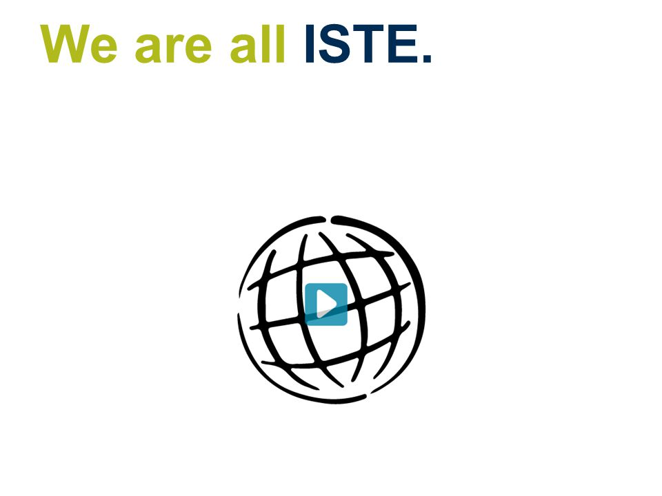 We are all ISTE.