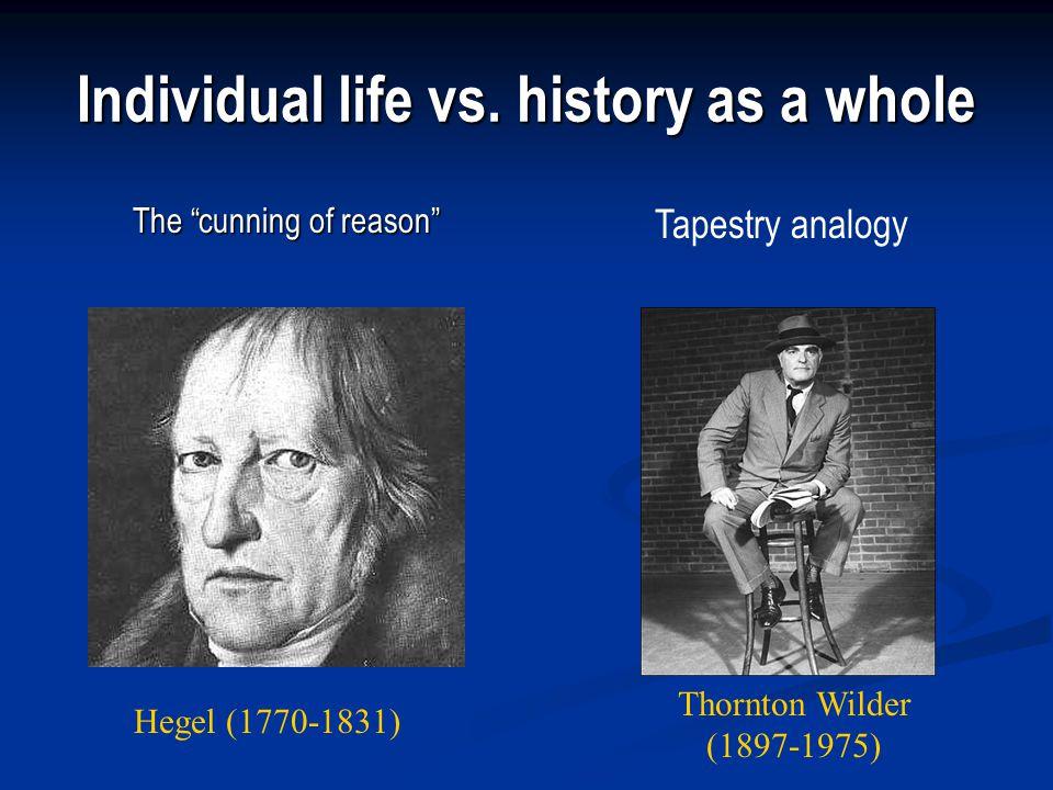 Individual life vs.