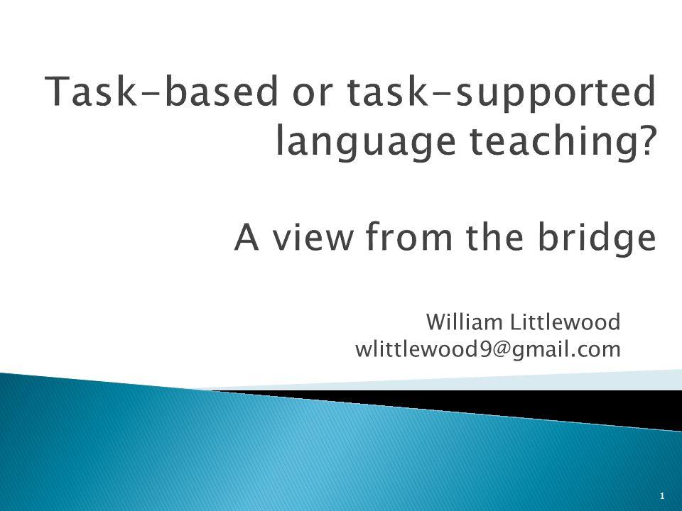 William Littlewood wlittlewood9@gmail.com 1