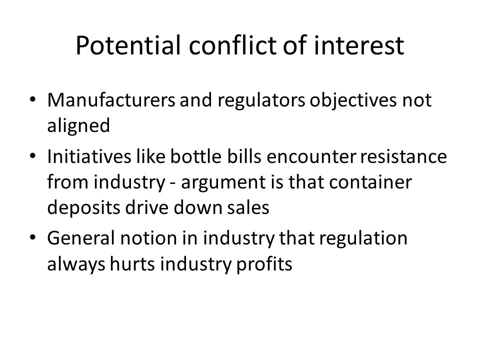 Research interest Questions we are interested in – Under what conditions will tighter regulation of claims by regulators increase manufacturer profits and claims.