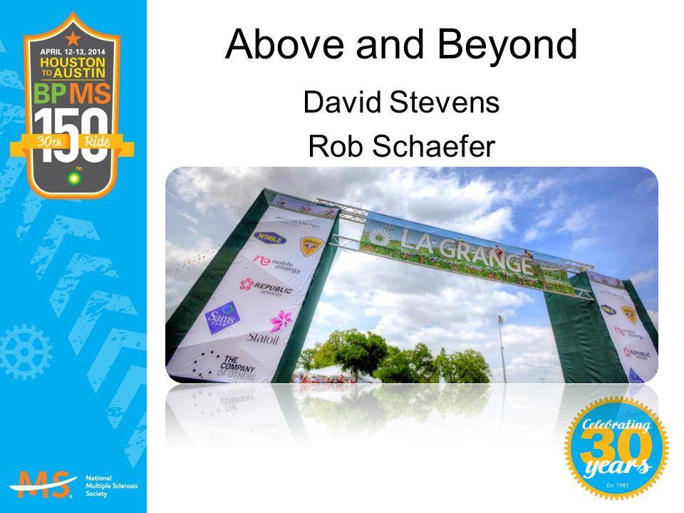 Above and Beyond David Stevens Rob Schaefer