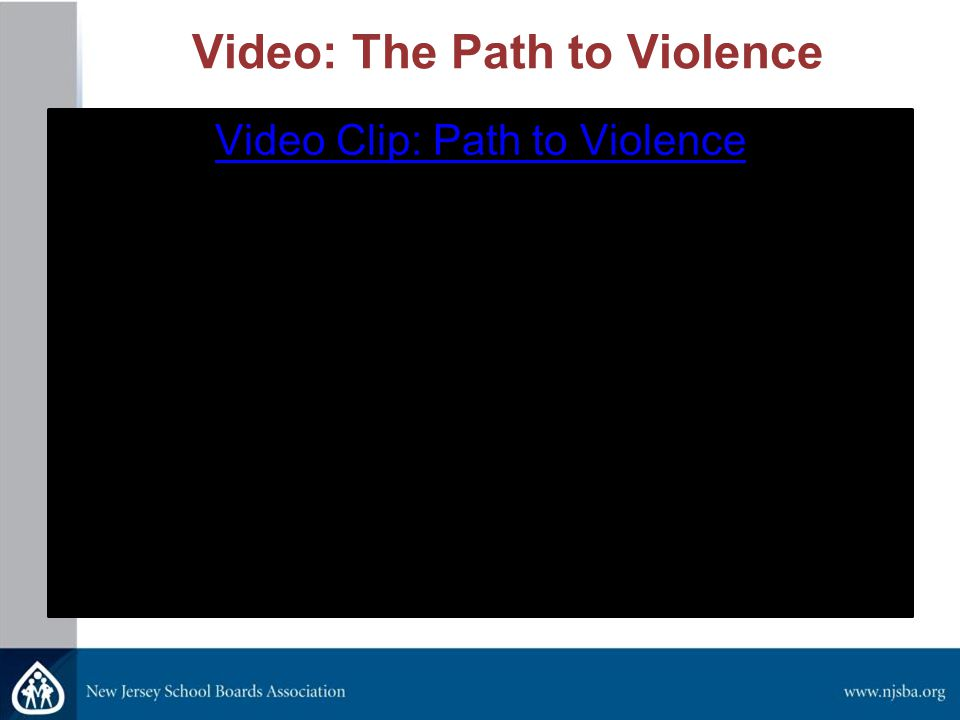 Video: The Path to Violence Video Clip: Path to Violence
