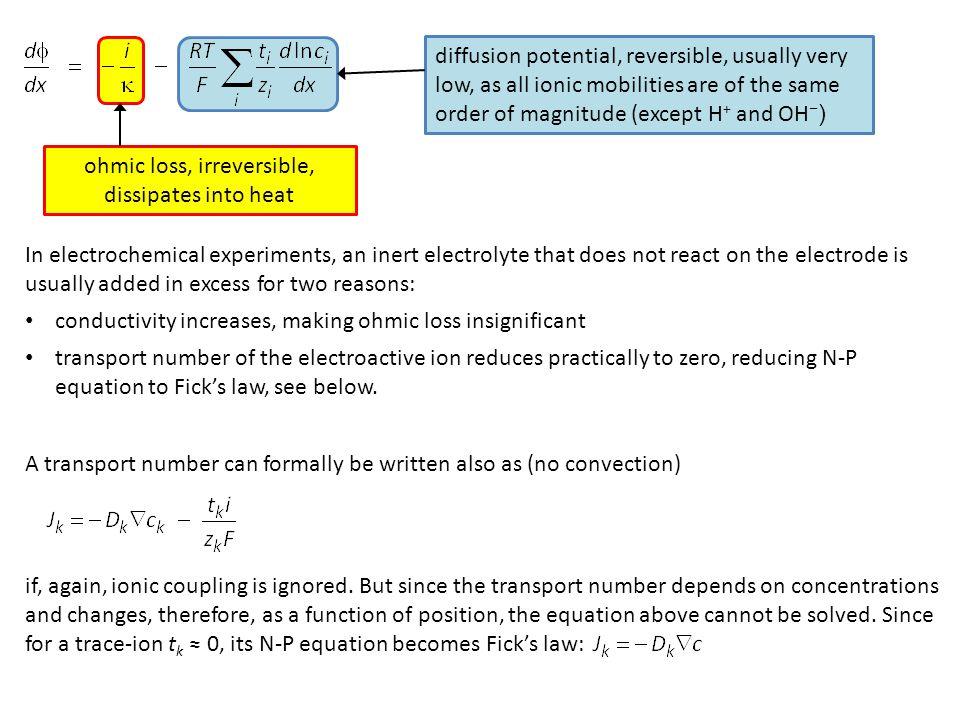 } = 0 Time dependent transport equation: Poisson equation:  2  = −  e /  ;  e = charge density,  = permittivity =  r  0.
