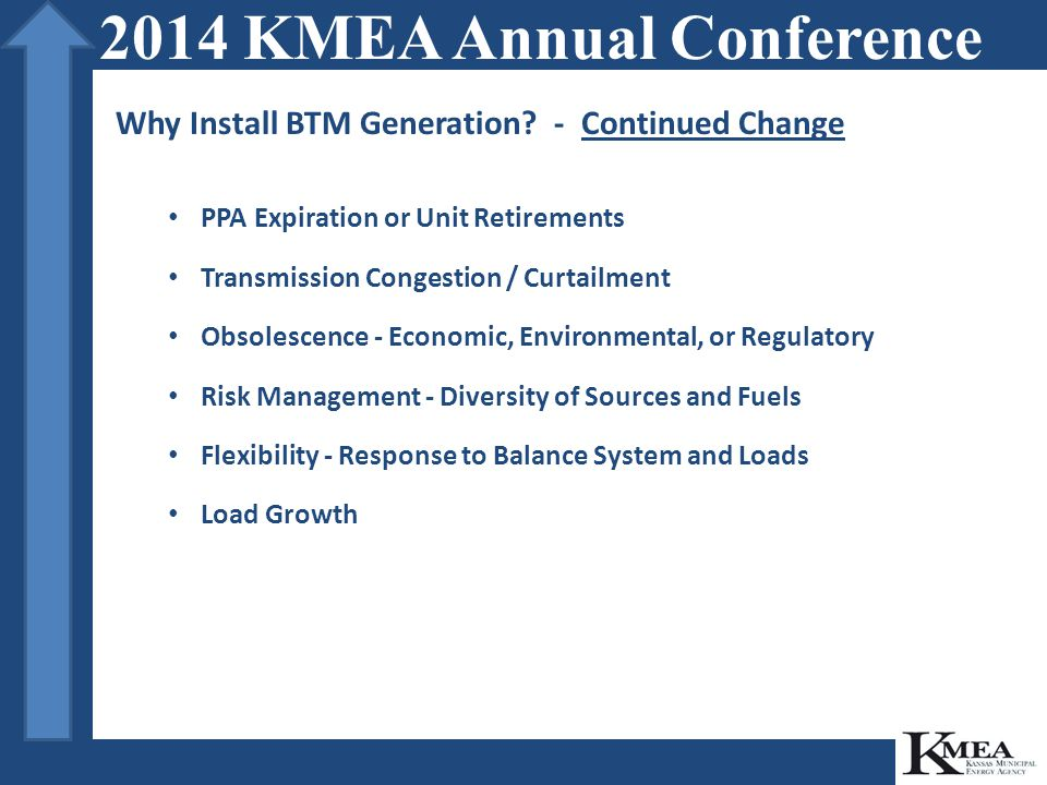 Why Install BTM Generation.