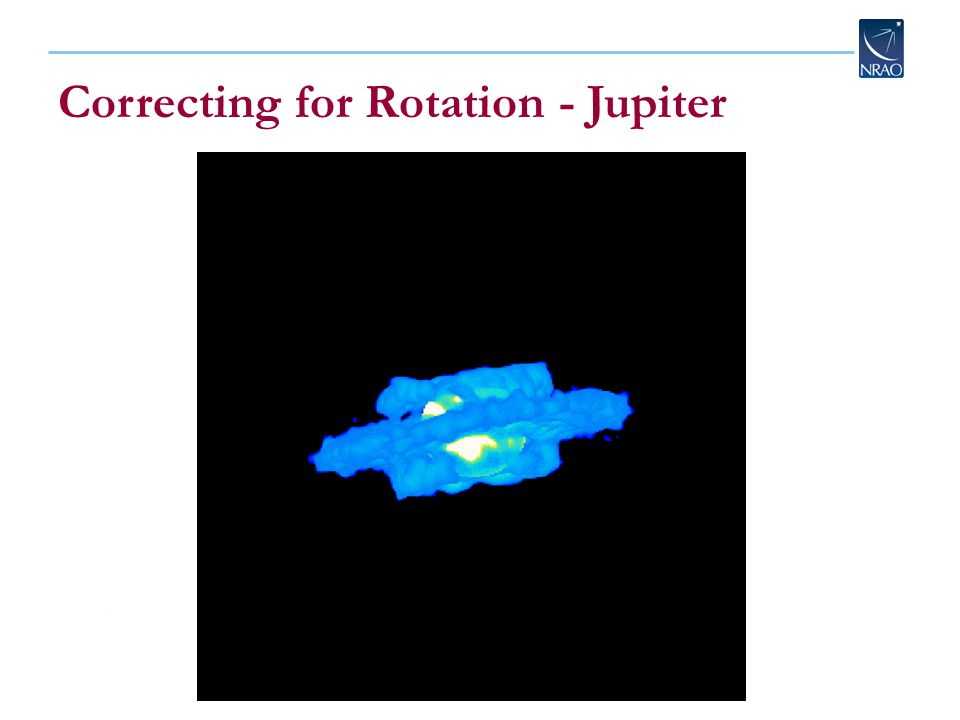 Correcting for Rotation - Jupiter
