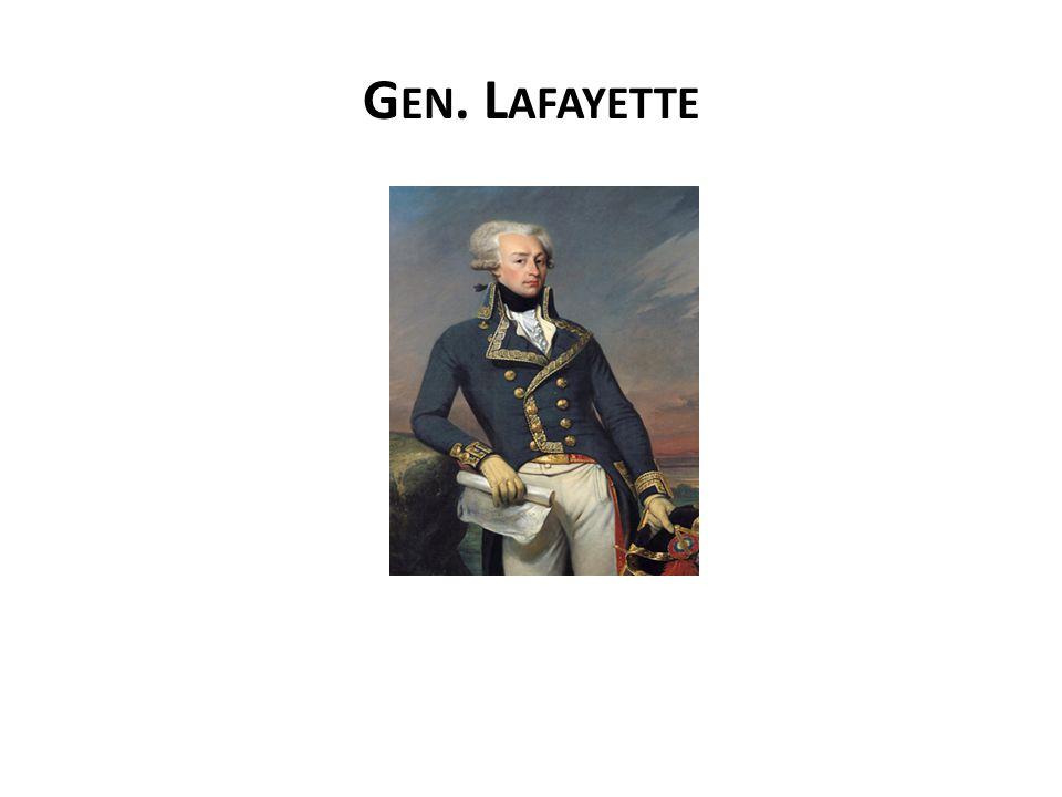 G EN. L AFAYETTE